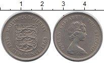 Изображение Монеты Остров Джерси 5 пенсов 1968 Медно-никель UNC-