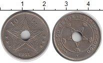 Изображение Монеты Бельгия Бельгийское Конго 10 сантим 1911 Медно-никель XF