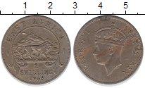Изображение Монеты Великобритания Восточная Африка 1 шиллинг 1948 Медно-никель XF