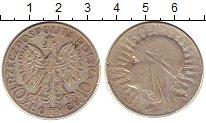 Изображение Монеты Польша 10 злотых 1932 Серебро VF