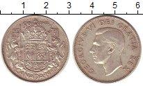 Изображение Монеты Канада 50 центов 1950 Серебро XF Георг VI