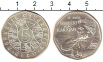 Изображение Монеты Австрия 5 евро 2008 Серебро UNC
