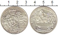Изображение Монеты Австрия 10 евро 2010 Серебро UNC Карл  Великий  в  Ун