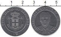 Изображение Монеты Италия Себорга 1 луиджино 2012 Медно-никель XF