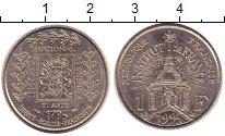 Изображение Монеты Франция 1 франк 1995 Медно-никель UNC