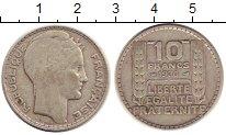 Изображение Монеты Франция 10 франков 1930 Серебро XF