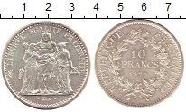 Изображение Монеты Франция 10 франков 1970 Серебро UNC-