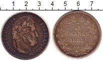 Изображение Монеты Франция 5 франков 1843 Серебро VF