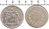 Изображение Монеты Франция 10 франков 1965 Серебро UNC-