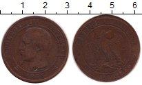 Изображение Монеты Франция 10 сантимов 1853 Бронза VF