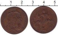 Изображение Монеты Франция 5 сантим 1908 Бронза XF