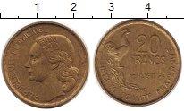 Изображение Монеты Франция 20 франков 1951 Латунь UNC-