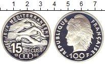Изображение Монеты Франция 100 франков 1993 Серебро Proof