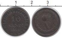 Изображение Монеты Вестфалия 10 сантимов 1809 Серебро XF-