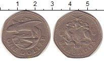 Изображение Монеты Барбадос Барбадос 1985 Медно-никель XF