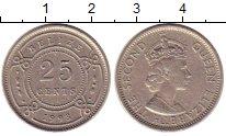 Изображение Монеты Белиз 25 центов 1993 Медно-никель XF