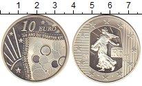 Изображение Монеты Франция 10 евро 2011 Серебро Proof Сеятельница