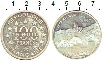 Изображение Монеты Франция 100 франков 1997 Серебро Proof