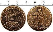 Изображение Монеты Франция 10 евро 2012 Серебро UNC