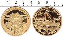 Монета Северная Корея 20 вон Латунь 2003 Proof фото