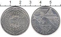 Изображение Монеты Франция 10 евро 2011 Серебро UNC- Регионы Франции - Ил