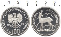 Изображение Монеты Польша 100 злотых 1979 Серебро Proof
