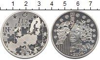 Изображение Монеты Франция 1 1/2 евро 2004 Серебро Proof