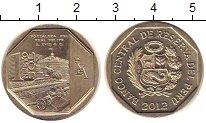 Изображение Монеты Перу 1 соль 2012 Медно-никель UNC