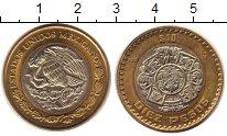 Изображение Монеты Мексика 10 песо 2007 Биметалл UNC
