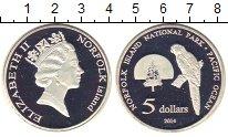 Изображение Монеты Австралия 5 долларов 2014 Посеребрение Proof