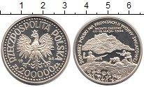 Изображение Монеты Польша 200.000 злотых 1994 Серебро Proof Польские  солдаты  н