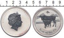 Изображение Монеты Австралия 1 доллар 2009 Серебро Proof- Елизавета II.  Год