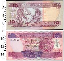 Изображение Банкноты Соломоновы острова 10 долларов 0  UNC-