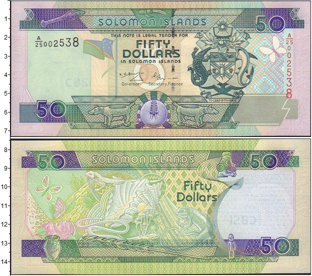 Картинка Боны Соломоновы острова 50 долларов  0