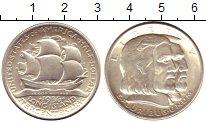 Изображение Монеты США 1/2 доллара 1936 Серебро UNC