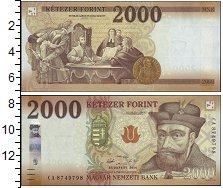 Изображение Боны Венгрия 2000 форинтов 2016  UNC-
