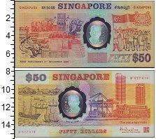 Изображение Банкноты Сингапур 100 динар 0  UNC-