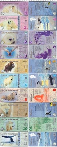 Изображение Боны Арктика 10 долларов 2011  UNC
