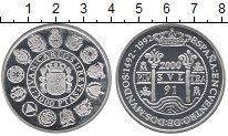 Изображение Монеты Испания 2000 песет 1991 Серебро Proof