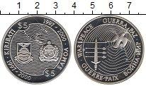 Изображение Монеты Кирибати 5 долларов 1997 Серебро Proof Война  и  мир (Выпус