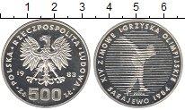 Изображение Монеты Польша 500 злотых 1983 Серебро Proof
