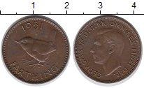 Изображение Монеты Великобритания 1 фартинг 1951 Бронза XF