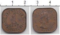 Изображение Монеты Малайя 1 цент 1958 Бронза XF