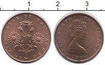 Изображение Монеты Остров Мэн 1/2 пенни 1971 Бронза UNC-