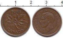 Изображение Монеты Канада 1 цент 1946 Бронза XF