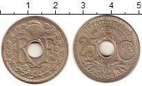 Изображение Монеты Франция 25 сентим 1939 Медно-никель XF+