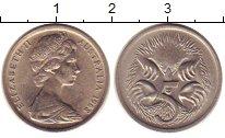 Изображение Монеты Австралия 5 центов 1968 Медно-никель XF+