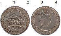 Изображение Монеты Восточная Африка 50 центов 1956 Медно-никель UNC-
