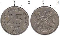 Изображение Монеты Тринидад и Тобаго Тринидад и Тобаго 1966 Медно-никель XF