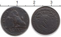 Изображение Монеты Бельгия 1 сантим 0 Медь F Леопольд I